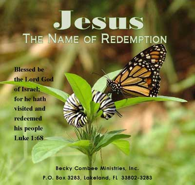 Jesus, The Name of Redemption